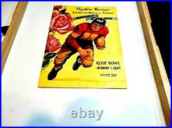 Alabama-USC 1946 Rose Bowl Football Program