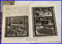 Antique 1923 Rose Bowl Penn State Vs. Usc Football & Parade Program