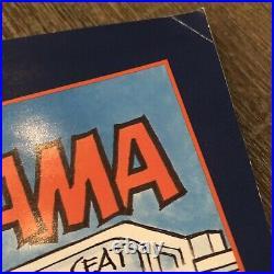 Auburn Football Gameday Program Alabama 1989 Vintage Iron Bowl First Time