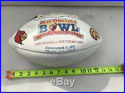 Beef O Brady Bowl 2010 Football Louisville Southern Mississippi Tropicana Field
