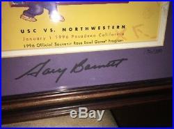 Bob Voigts & Gary Barnett (Northwestern) Autographed Rose Bowl Programs 196/350