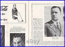 COTTON BOWL 1938 RICE v COLORADO NCAA FOOTBALL PROGRAM BYRON WHITE AUTOGRAPHED