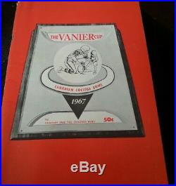 Canadian College Bowl 1966 Vanier Cup CIAU Football PROGRAM LAURIER ST. F. XAVIER