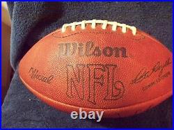 Dallas Cowboys Super Bowl VI Program and Pennets + Autographed 1980s Football