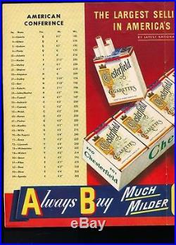 EX PLUS Jan. 14,1951 NFL Pro Bowl Program 18 HOF'ers 1ST PRO BOWL GAME