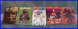 Entire Collection of All 52 Original Super Bowl Programs