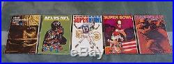 Entire Collection of All 53 Original Super Bowl Programs