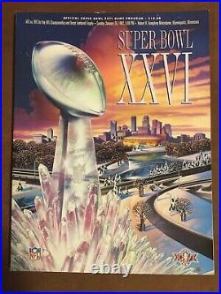 Football Super Bowl Programs 5 Total