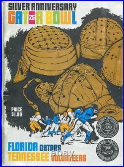 Gator Bowl NCAA Football Game Program 1969-FL vs Tenn-FN
