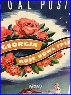 Georgia Bulldawgs 1943 Rose Bowl Football Program