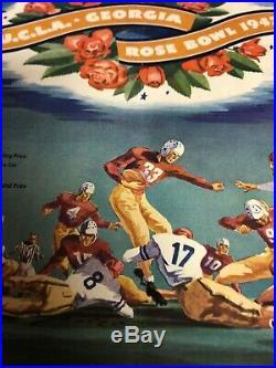 Georgia Bulldogs Football 1943 UGA Vs. UCLA Rose Bowl Game Program with Ticket