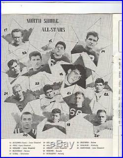 Harry Agganis 1947 All-Stars Program Manning Bowl LynnBoston Red Sox