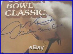 JOE MONTANA SIGNED 1979 COTTON BOWL PROGRAM ND vs UH CHICKEN SOUP GAME INSCR JSA