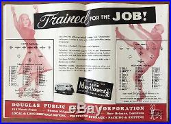 Jan. 1, 1949 SUGAR BOWL Football Program. OKLAHOMA SOONERS vs NORTH CAROLINA