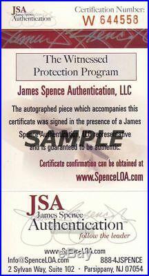 Joe Montana Notre Dame Signed/Inscribed 1979 Cotton Bowl Program MVP JSA Q98867