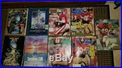 Joe Montana auto SB Photo Super Bowl Programs/Magazines S. I. SF 49er magazines