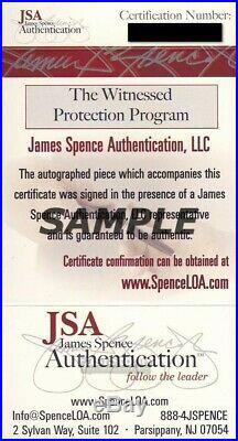 Joe Namath MVP New York Jets Super Bowl III 1969 Auto/Signed Program JSA 135561