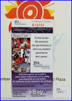 Joe Paterno Signed Penn State 1991 Fiesta Bowl Kickoff Luncheon Program JSA COA