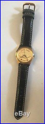 Jostens Football Rose Bowl 1987 Arizona State Michigan Wristwatch Watch RUNNING