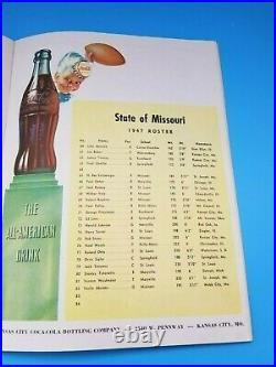 Kansas Missouri Bowl All Star Game College Football Program 1947 Rare