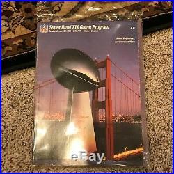 Lof of Vintage Super Bowl Programs 13-20