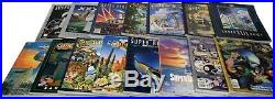 Lot of 21 Different Super Bowl World Series Official Programs 1980s-2010s BC150
