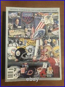 Lot of four Super Bowl programs XXIV XXV XXVI XXIX