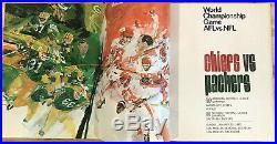 MINT 1967 Super Bowl I NFL-AFL Championship Program / Packers vs Chiefs RARE