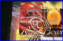 Matt Leinart signed 90th Rose Bowl Program, USC Trojans, Beckett BAS