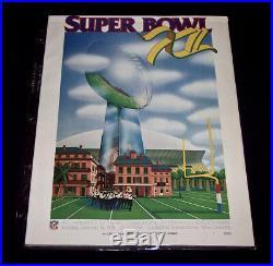 Mint! Vintage NFL Super Bowl Programs X / XI / XII / XIV / XV