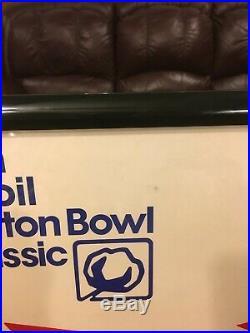 Mobil Cotton Bowl 55th Football 1991 Poster Texas vs. Miami Palladino