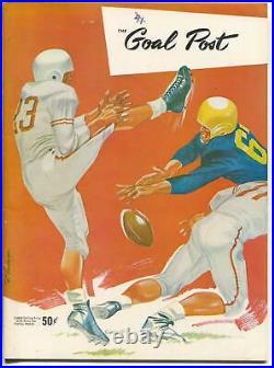 NCAA Football Game Program-UCLA vs Stanford-Rose Bowl Stadium-FN/VF