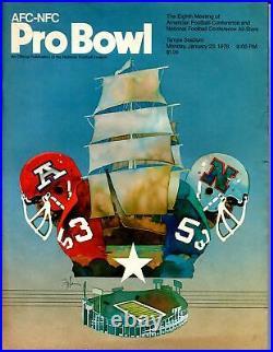 NFL Pro Bowl Football Game Program-1/23/1978-Tampa Stadium-AFL-VG