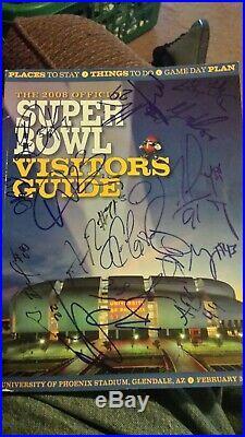 New York Giants 2008 signed 18x super bowl program