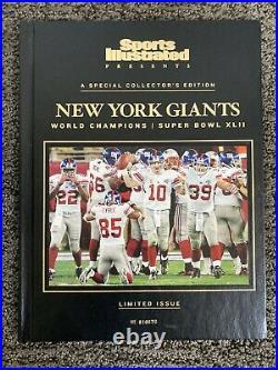 New York Giants NFL Super Bowl XLII 42 Champions Collectors Edition Set. RARE