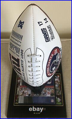 New York Giants Super Bowl XLII Sports Illustrated Collectors Edition Set. Rare