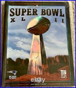 New York NY Giants NFL Football Super Bowl Game Program Complete Set 21 25 42 46