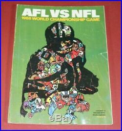 ORIGINAL Super Bowl II 2 Green Bay Packers vs. Oakland Raiders football program