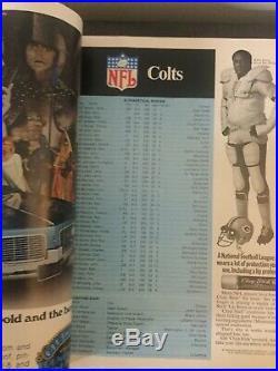 ORIGINAL Super Bowl III Program 1969 Jets vs Colts Football AFL NFL
