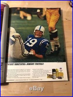 Official Super Bowl I Program 1967
