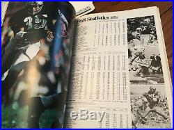 Original 1969 Super Bowl III N. Y. Jets Vs Baltimore Colts Football Program