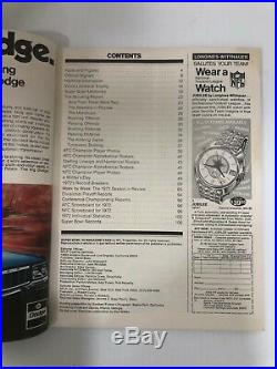 Original 1973 Super Bowl VII Football Program