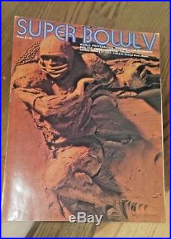 Original Program sold at the 1971 Super Bowl V Miami Orange Bowl Dallas Cowboy
