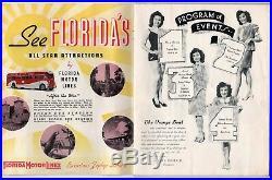 RARE 1943 ORANGE BOWL PROGRAM Alabama Crimson Tide BOSTON COLLEGE Football NCAA