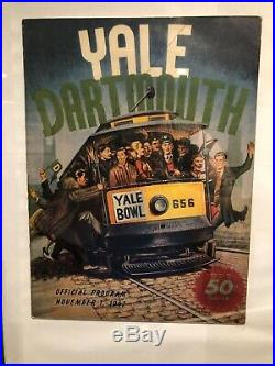 RARE 1947 Yale Dartmouth University Football Program Yale Bowl
