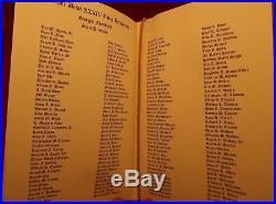 RARE St. Louis Rams Super Bowl XXXIV 34 Ring Ceremony Program Signed