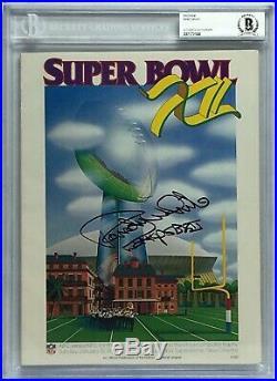 Randy White Signed Original Football Super Bowl XII Program SB XII Co-MVP BAS