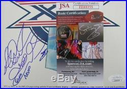 Richard Dent Bears Super Bowl XX MVP Signed Super Bowl XX Program JSA 143957
