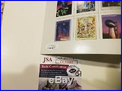 Richard Dent Mike Ditka Chicago Bears signed Super Bowl XX Program SBXX JSA COA