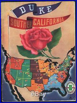 Rose Bowl 1939-duke Vs. Usc-college Football Program